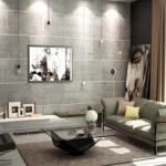 Применением бетона для домашнего дизайна