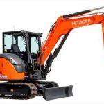 Hitachi готовит премьеру нового мини-экскаватора