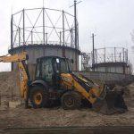 Начались работы по реконструкции Бортнической станции аэрации