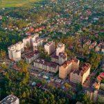 Красоты Украины: Ирпень с высоты птичьего полета. Видео