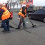 Киевские дороги ждут потепления