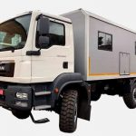 В Украине изготовлена партия жилых модулей на базе MAN