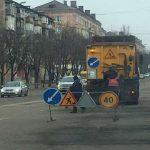 В уход за дорогами Кривого Рога вложили 144 млн. грн.