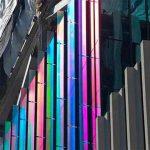 В США для остекления фасадов начали использовать дихроическое стекло