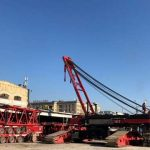 Голландия прислала оборудование для разборки Шулявского путепровода