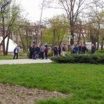 В Запорожье за 16 млн. грн. реконструируют сквер