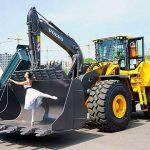 В Киеве показали погрузчик Volvo нового поколения