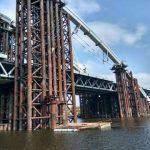 К осени Подольский мост останется без ржавчины