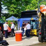 В Киеве показали линейку погрузчиков Manitou