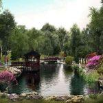 В Киевском зоопарке заселяют карповое озеро