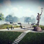 У переименованного аэропорта установят памятник