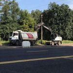 На проспекте Палладина ремонтируют правую часть