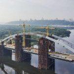 На Подольском мосту начался демонтаж