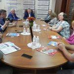 В Строительной Палате Украины прошла встреча журналистов с Президентом Палаты П.С. Шилюком