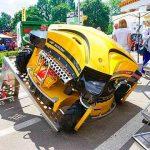 На украинском рынке представлен мощный робот-газонокосилка. Видео