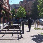 За неделю в Киеве демонтировали 58 незаконных летних площадок