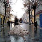 Житомир заказал уборку тротуаров