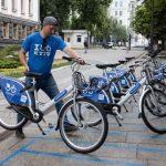 По всему Киеву установят пункты проката велосипедов