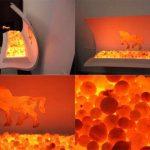 В Италии создали первую в мире мебель с реалистичным эффектом огня. Видео