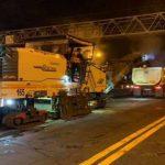 В Киеве круглосуточно ремонтируют важную транспортную артерию