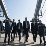 Киев собирается открыть автомобильное сообщение по Подольскому мосту к концу года