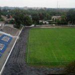 В Новомосковске реконструируют стадион