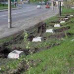 Строительный забор на Амосова не снесут