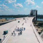 Строительство Подольского моста на текущий год профинансировали почти полностью