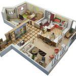 Аренда трехкомнатных квартир пользуется наименьшим спросом