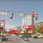 С проспекта Лобановского убрали две трети рекламы