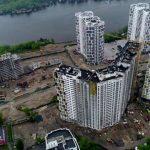 В Днепровском районе достроят два дома