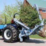 Как пересадить дерево с помощью специальной техники. Видео