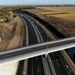 Завершено строительство участка автодороги М-03 Киев-Харьков. Фото