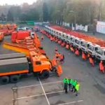 «Киевавтодор» представил более 230 видов спецтехники