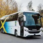Scania для национальной сборной выпустила эксклюзивный автобус c солнечными батареями