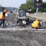 На Русановском мосту провели уникальный ремонт