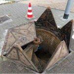 Приколы: самый необычный канализационный люк в мире. Фото