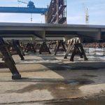 Шулявский путепровод потяжелел на 145 тонн