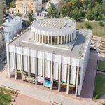 Реконструкцию Украинского дома остановили