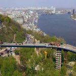 На строительстве велосипедно-пешеходного моста ничего не украли