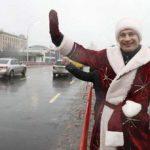 Движение по отремонтированным мостам в Киеве будут открывать Деды Морозы