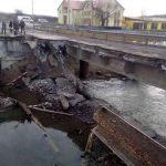 На ремонте моста под Тернополем украли госсредства