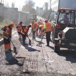 Киевские дорожники сосредоточились на среднем ремонте