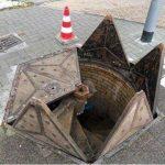 Строительные курьезы: самый необычный канализационный люк в мире. Фото