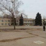 В запорожской гимназии реконструируют спортплощадку