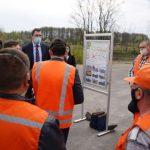 Глава Минрегиона проверил строительство в Чернигове
