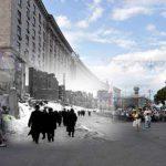Как изменился Киев за последние 100 лет. Видео