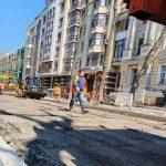 В Киеве обновили древние улицы
