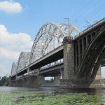 Как строился Дарницкий железнодорожный мост. Фото