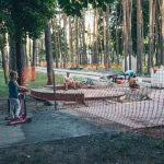 В Киеве отремонтировали два парка